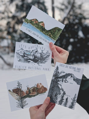 National Park Postcard Pack