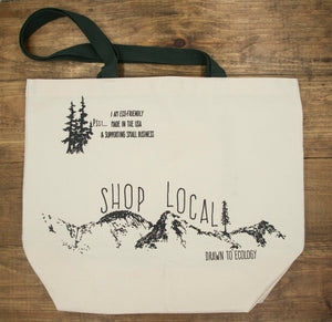 Reusable Organic Cotton Canvas Bag