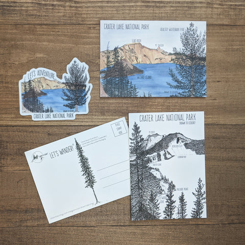 Crater Lake NPS Bundle (Free Shipping)