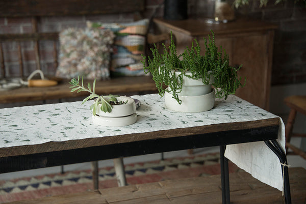 Hemp Table Runner Spore