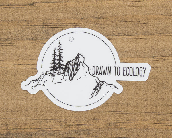 Drawn to Ecology Sticker