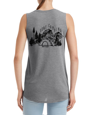 Let's Adventure + Gone Camping Tank