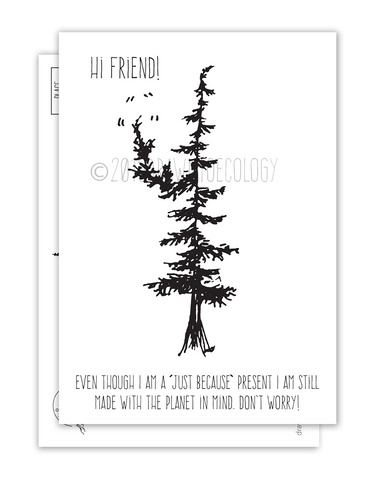 Hi Friend Postcard