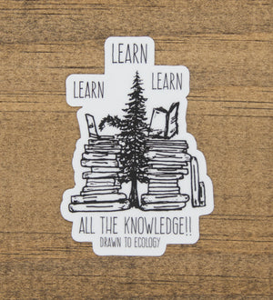 Learn Sticker