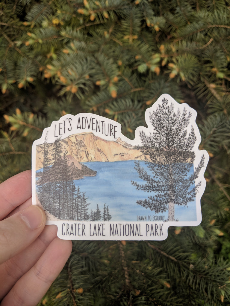 Let's Adventure™ Crater Lake National Park