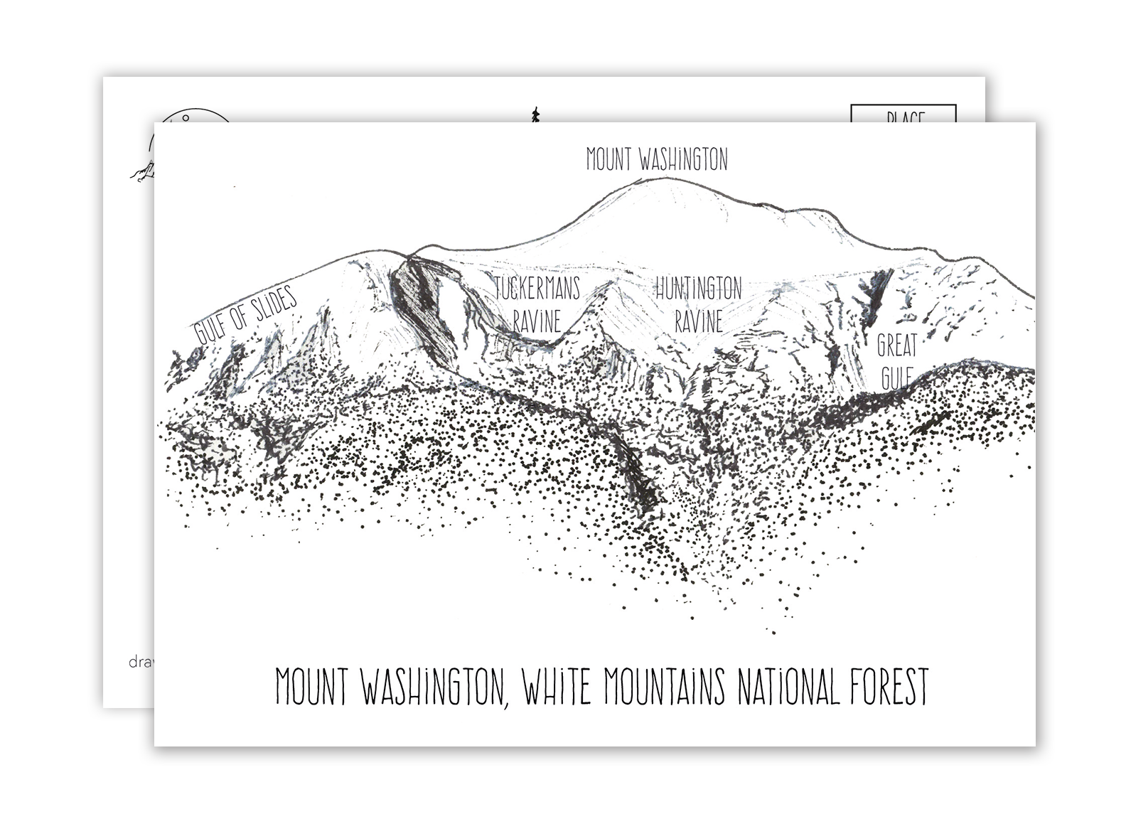 Mount Washington Postcard
