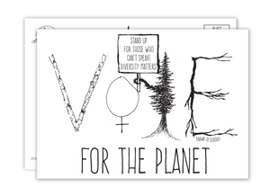 Vote for the Planet Postcard