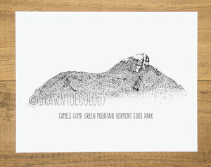 Original Camel's Hump Illustration