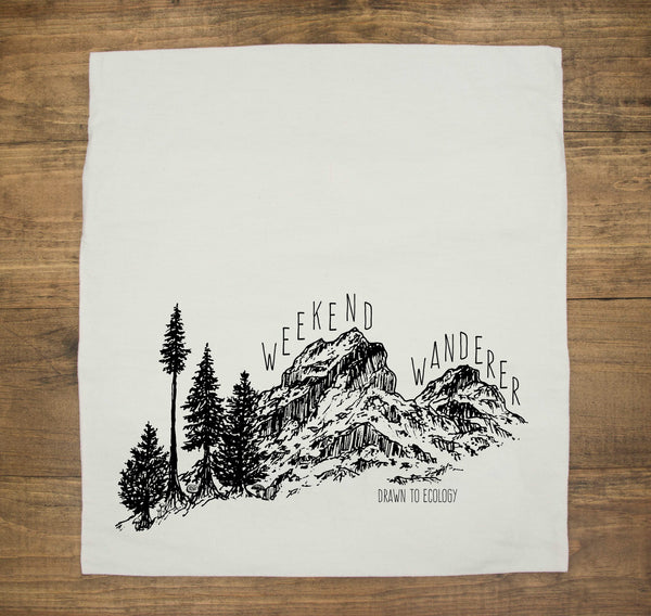 Weekend Wanderers Hemp Pillow Case