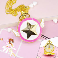 [Cardcaptor Sakura] Small Pocket Watch Pendant HF00029