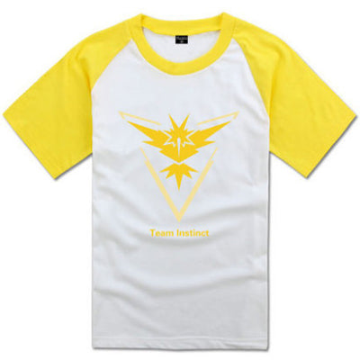 [Pokemon Go] Team Instinct Mystic Valor Printed T-shirts HF00247