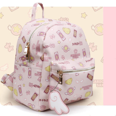 [Cardcaptor Sakura] Cartoon Animation School Backpack Bag HF00233