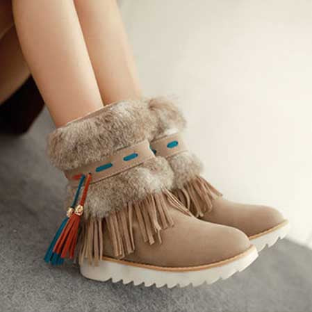 Winter Indian Snow Boots HF00570
