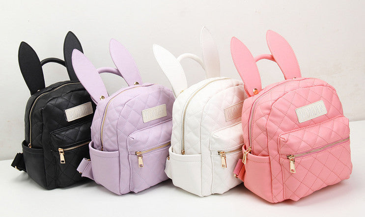 Cute bunny backpack bags various colors hf00437 for Cute stuff for sale
