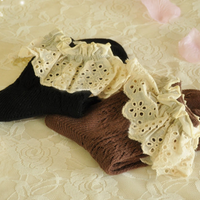 Cotton Lace Socks (various colors) HF00573