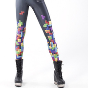 Tetris Silk Leggings HF00217
