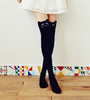 Cute Kitty Cat and Bear Knee Socks HF00406