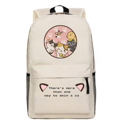 [Neko Atsume] Cute Kitty Cat Cartoon Backpack Bag Ver. 3 HF00212
