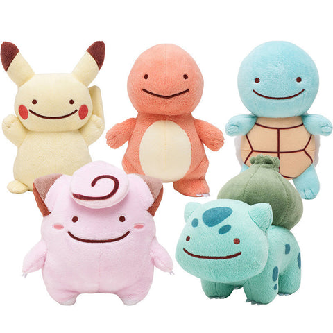 [Pokemon] Pokemon Ditto Face Plush Toys (various characters) HF00593