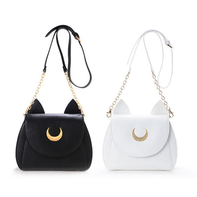 [Sailor Moon] Shoulder Bag (black and white) HF00620