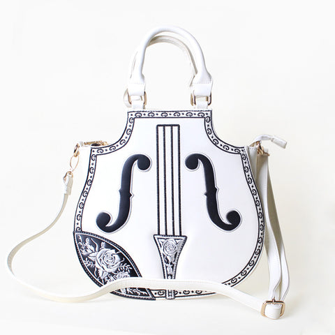 Violin Shaped Shoulder and Hand Bag HF00149