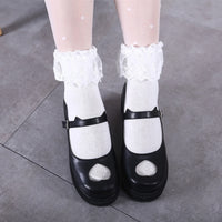 Lolita Love Kitty Ears Shoes HF00289
