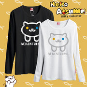 [Neko Atsume] Cute Cartoon Sweaters (black and white) HF00358