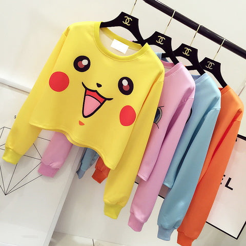 [Pokemon] Various Characters Printed Sweaters HF00256