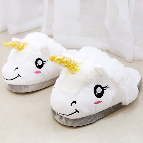 Unicorn Slippers HF00785