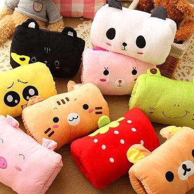 Small Comfortable Cartoon Plush Pillows (various styles) HF00682
