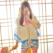 [Gintama] Gintoki Sakata Chiffon Cloak and Strawberry Shorts HF00706