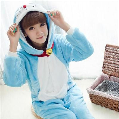 [Doraemon] Cute Cartoon Cosplay Onesie HF00308