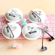 [Totoro] Cute Cartoon Printed Earphones (various styles) HF00672