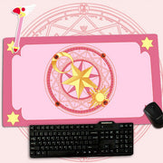 [Cardcaptor Sakura] Oversized Moon Star Logo Mousepads (various colors) HF00844