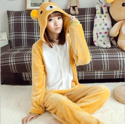 [Rilakkuma] Cute Cartoon Cosplay Onesie HF00321