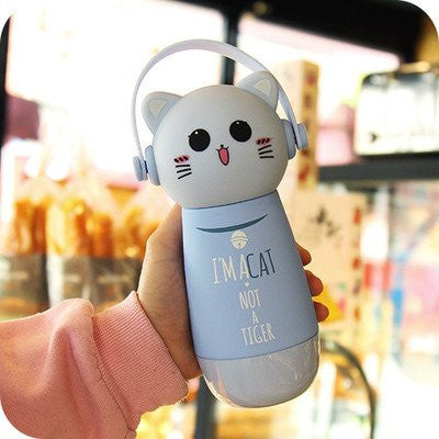 Kawaii Cat Drink Bottle (various colors) HF00815