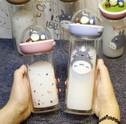 [Totoro] Micro Cartoon Landscape Drink Bottles (various colors) HF00891