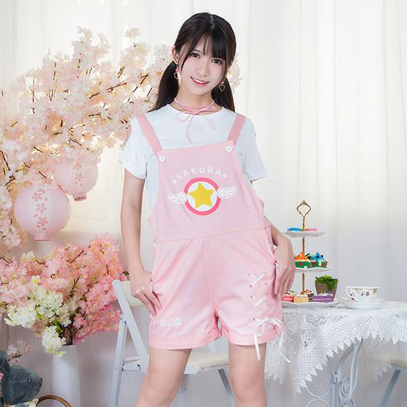 [Cardcaptor Sakura] Sealing Wand T-shirt and Skirt Set HF00238