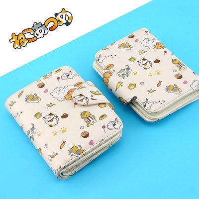 [Neko Atsume] Cute Cartoon Purse HF00984