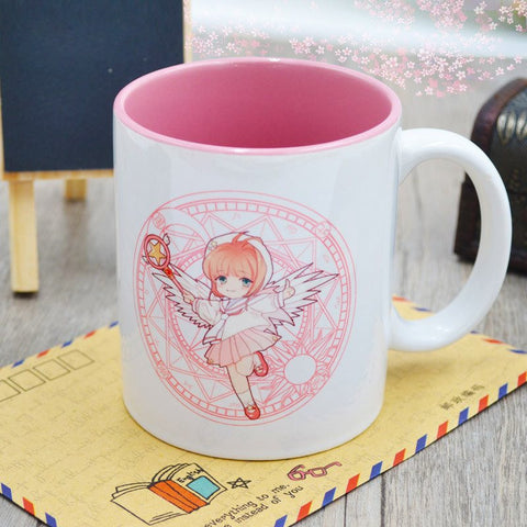 [Cardcaptor Sakura] Magic Card Girl Ceramic Mug HF00853