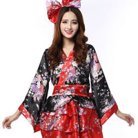 Flower Lolita Kimono Cosplay Dress HF00378