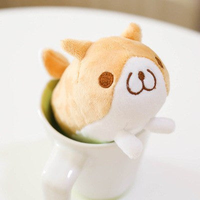 [Shiba Inu] Cute Dog Small Plush Pendant Ver.2 HF00860