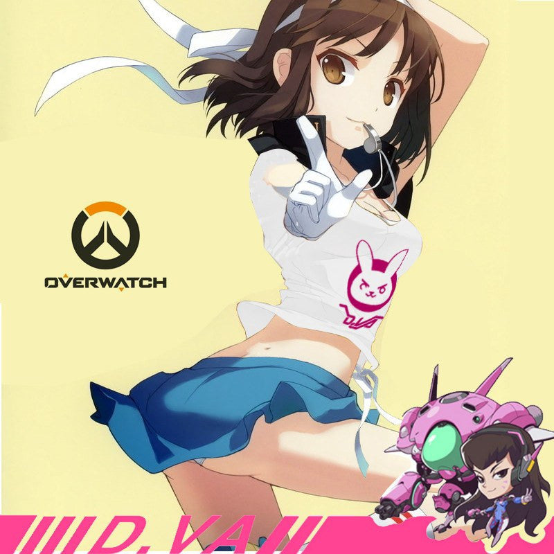 [Overwatch] D.VA Sexy Short T-shirt HF00806