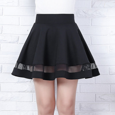 Transparant Black Tutu Skirt HF00747