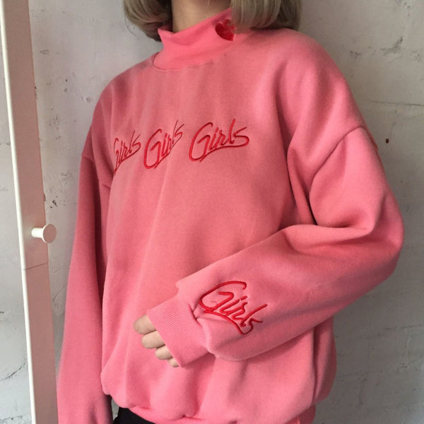 Girls Embroidered Sweater (various colors) HF00824