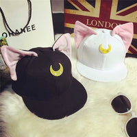 [Sailor Moon] Luna and Artemis Baseball Caps HF00259