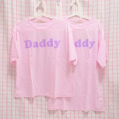 Daddy Printed T-Shirt HF00528