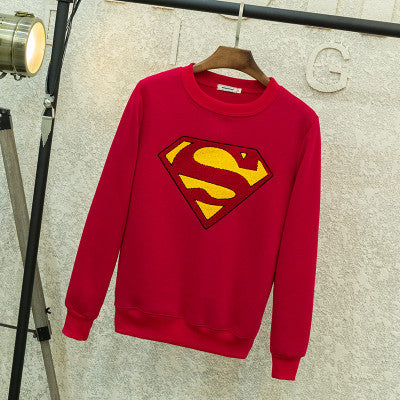 [Superman] Logo Embroidered Sweaters (various colors) HF00208