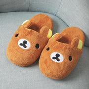 [Rilakkuma] Kawaii Cartoon Slippers HF00270
