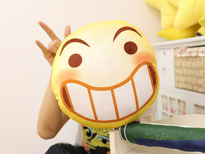 Funny Smiley Emoticon Plush Pillows Various Versions Hf00139